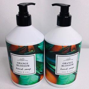 2 Charleston Home Orange Blossom Hand Soap 21.5oz